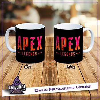 Apex Legends Pembe ve Turanj Renk Logolu Kupa