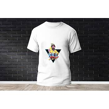Killjoy Baskýlý Model 18  T-Shirt