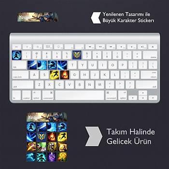 Yasuo: Klavye Sticker Set