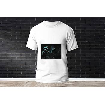 Omen Baskýlý Model 20  T-Shirt