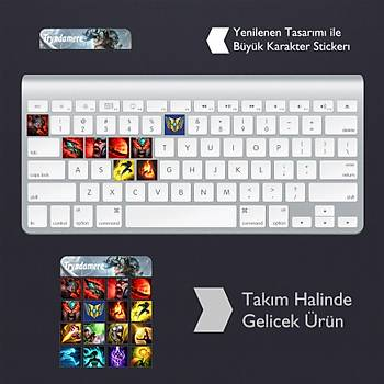 Tryndamere: Klavye Sticker Set