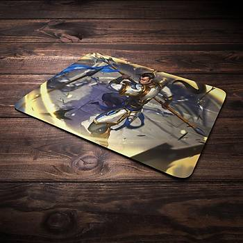 League Of Legends XinZhao Þampiyon Baskýlý Mousepad (BÜYÜK GAMEPAD)