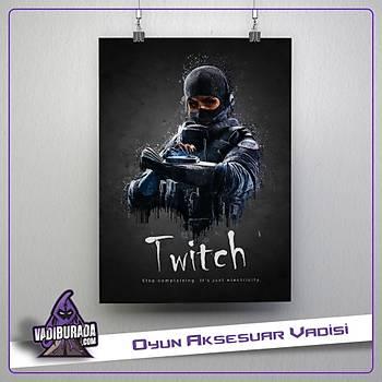 Rainbow Six Siege : Twitch Poster