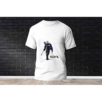 Sova Baskýlý Model 21  T-Shirt
