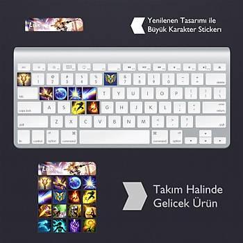Lux: Klavye Sticker Set