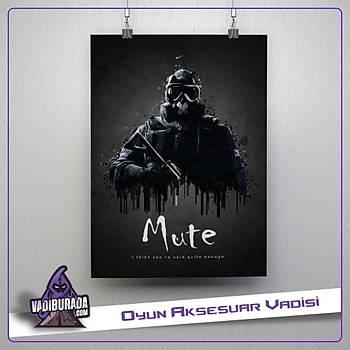 Rainbow Six Siege : Mute Poster