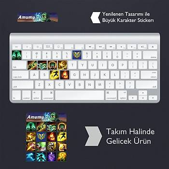 Amumu: Klavye Sticker Set
