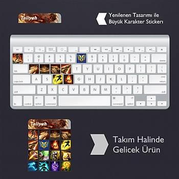 Taliyah: Klavye Sticker Set