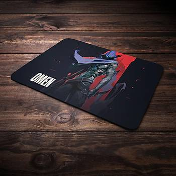 Valorant Model Omen3 Baskýlý Mousepad (BÜYÜK GAMEPAD)