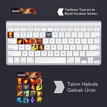 Annie: Klavye Sticker Set