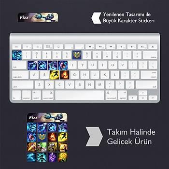 Fizz: Klavye Sticker Set