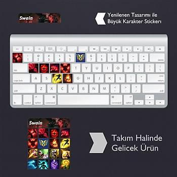 Swain: Klavye Sticker Set
