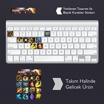 Jayce: Klavye Sticker Set