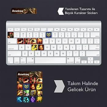 Renekton: Klavye Sticker Set
