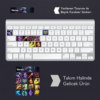 Varus: Klavye Sticker Set