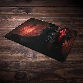 League Of Legends Swain Þampiyon Baskýlý Mousepad (BÜYÜK GAMEPAD)
