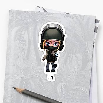 R6 : i.q Sticker (2 adet)