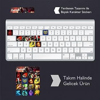 Darius: Klavye Sticker Set