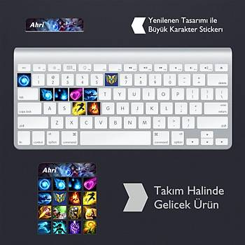 Ahri: Klavye Sticker Set