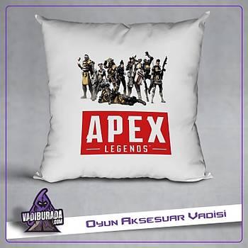 Apex Legends Kahramanlar 1 Logolu Yastýk