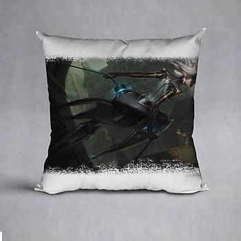 League Of Legends Camille Baskýlý Yastýk (ELYAF DOLGULU)