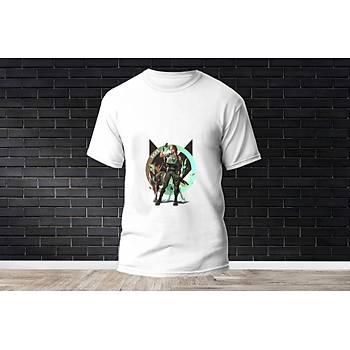 Skye Baskýlý Model 5  T-Shirt