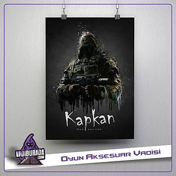 Rainbow Six Siege : Kapkan Poster
