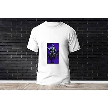 Omen Baskýlý Model 9  T-Shirt