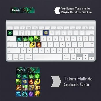 Twitch: Klavye Sticker Set