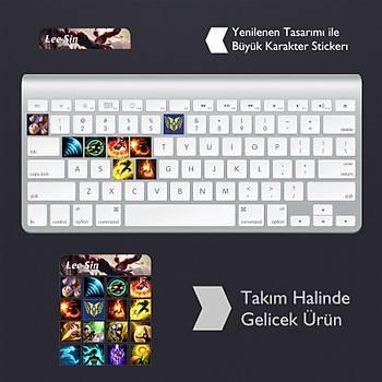 Lee Sin: Klavye Sticker Set