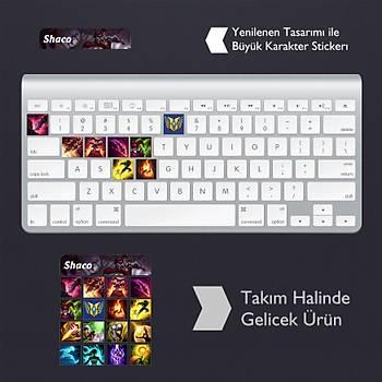 Shaco: Klavye Sticker Set