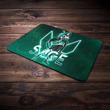 Valorant Model Sage Baskýlý Mousepad (BÜYÜK GAMEPAD)