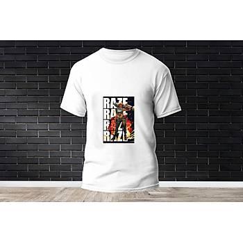 Raze Baskýlý Model 13  T-Shirt