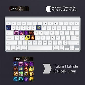 Jhin: Klavye Sticker Set