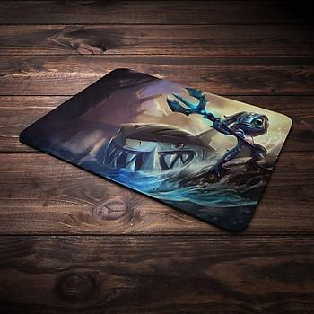 League Of Legens Fizz Þampiyon Baskýlý Mousepad (BÜYÜK GAMEPAD)