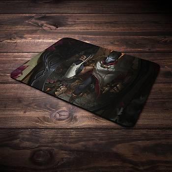 League Of Legends Jhin Þampiyon Baskýlý Mousepad (BÜYÜK GAMEPAD)