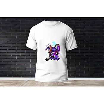 Killjoy Baskýlý Model 16  T-Shirt