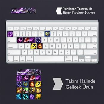 Kassadin: Klavye Sticker Set