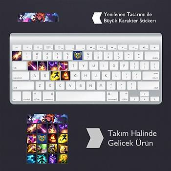 Zoe: Klavye Sticker Set