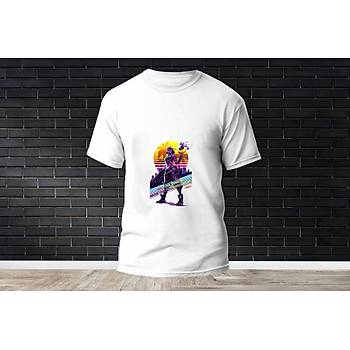 Raze Baskýlý Model 24  T-Shirt