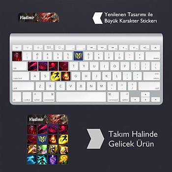 Vladimir: Klavye Sticker Set