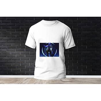 Omen Baskýlý Model 14  T-Shirt