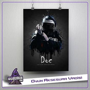 Rainbow Six Siege : Doc Poster