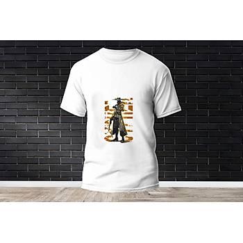 Cypher Baskýlý Model 8  T-Shirt