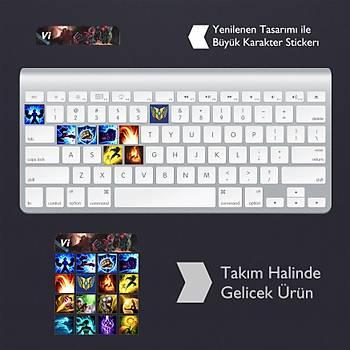 Vi: Klavye Sticker Set