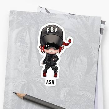 R6 : Ash Sticker (2 adet)