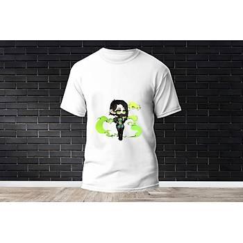 Viper Baskýlý Model 2  T-Shirt