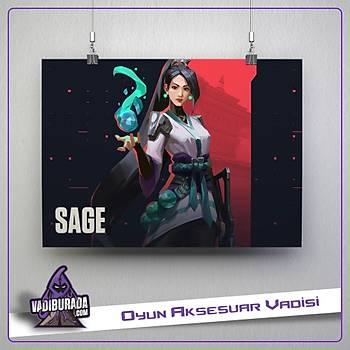 Sage M1: Valorant Poster