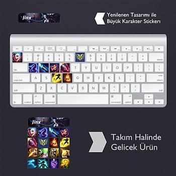 Jinx: Klavye Sticker Set