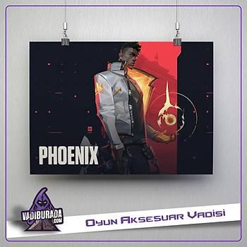 Phoenix M1: Valorant Poster